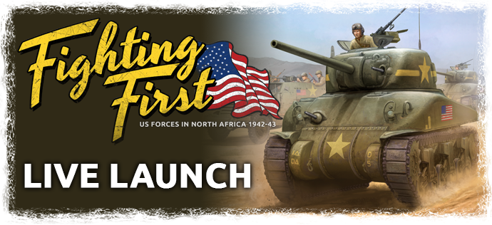 Fighting First Live Launch