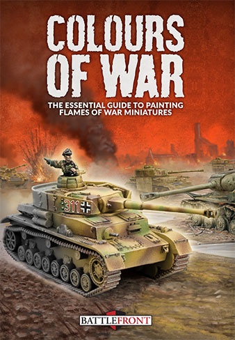 Colours Of War cover