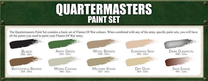 Quartermaster's Paint Set
