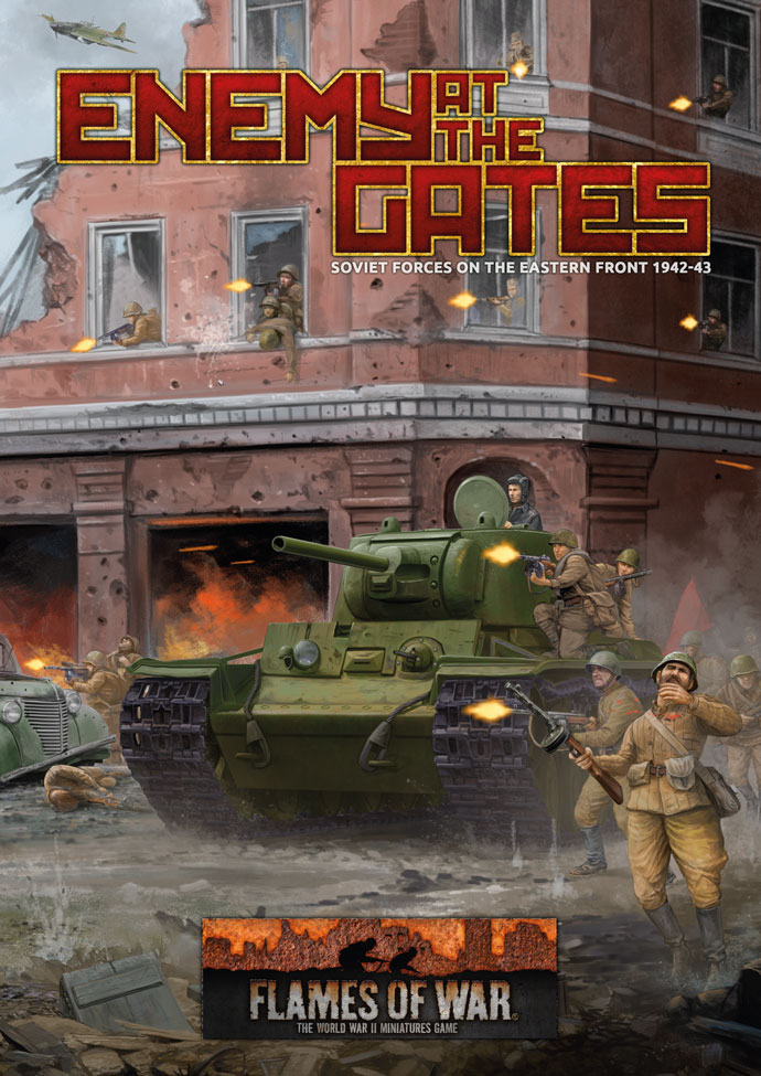 Enemy at the Gates - Soviet forces on the Eastern Front 1942-43