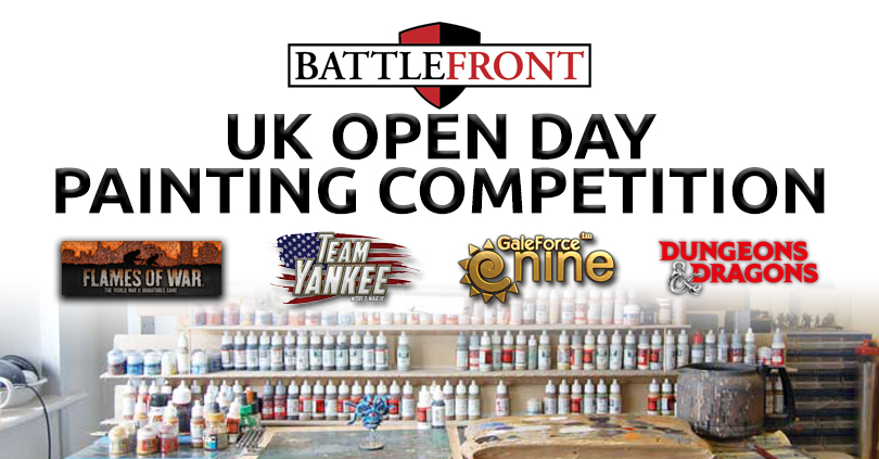 Battlefront UK Open Day Painting Competition