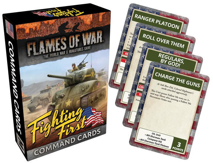 Fighting First Command Cards (FW243C)