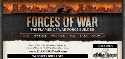 V4 Flames Of War Forces