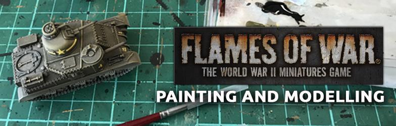 Flames Of War Painting Group