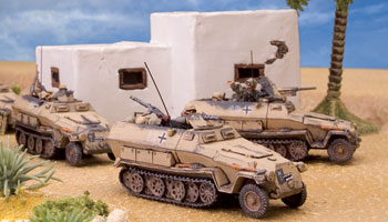 Using Sd Kfz 251 Half-tracks in Iron Cross