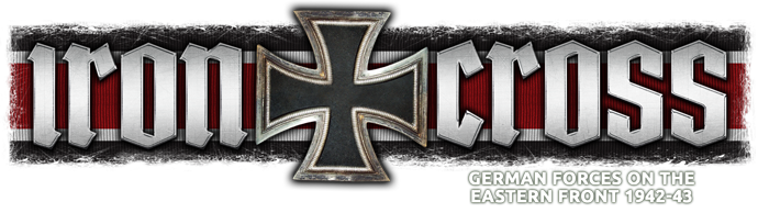 Iron Cross - German forces on the Eastern Front 1942-43