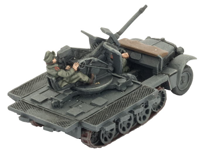 Sd Kfz 10/4 Light AA Platoon (GBX111)