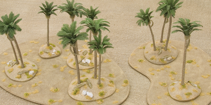 The Lost Oasis: Pimping Your Desert Battlefield in a Box Sets