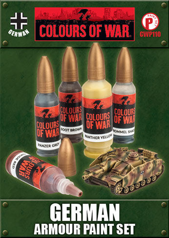 German Armour Paint Set (CWP110)