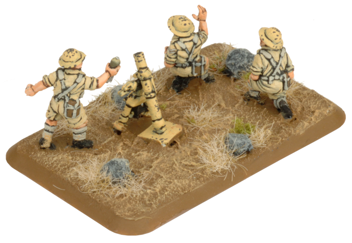MMG Platoon & Mortar Section (Plastic) (BR754)