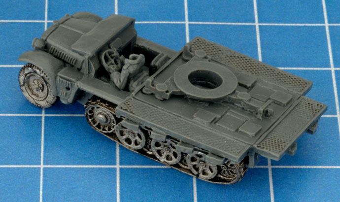 Assembling the Sd Kfz 10/4