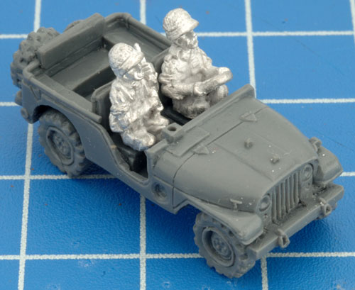 Recce Jeep Assembly (TIS121)