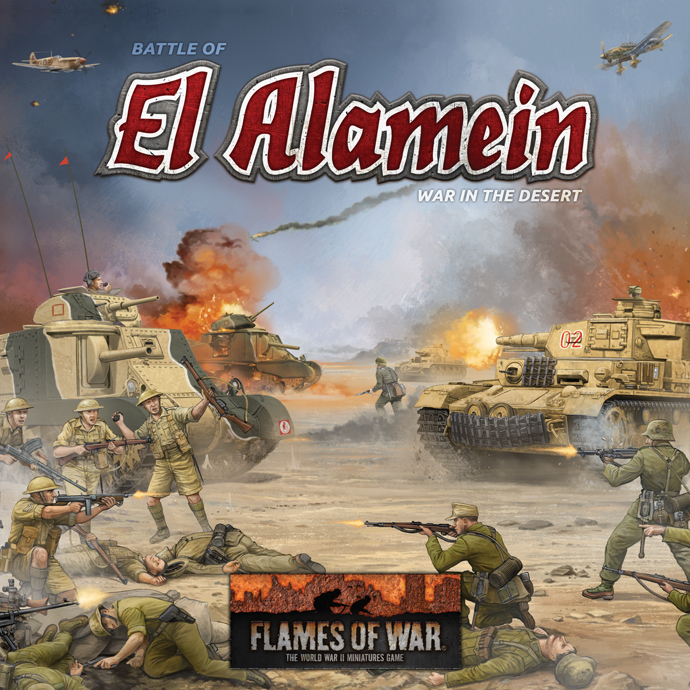 Battle of El Alamein: War in the Desert (FWBX07)