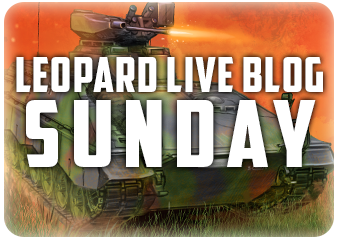 Leopard Live Blog – Sunday
