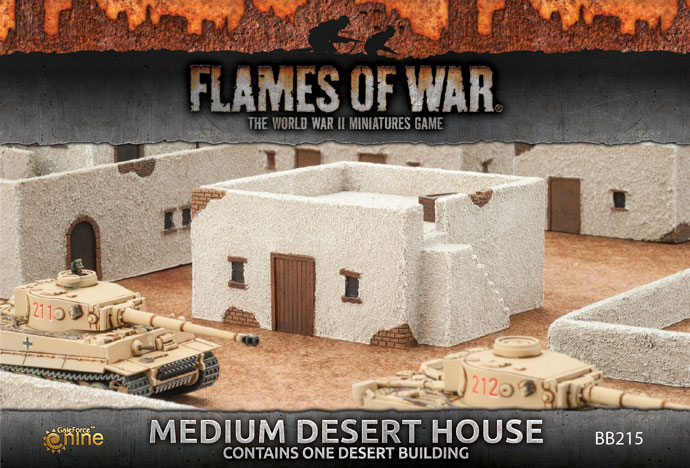 Medium Desert House (BB215)