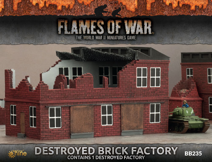 Destroyed Factory (BB235)
