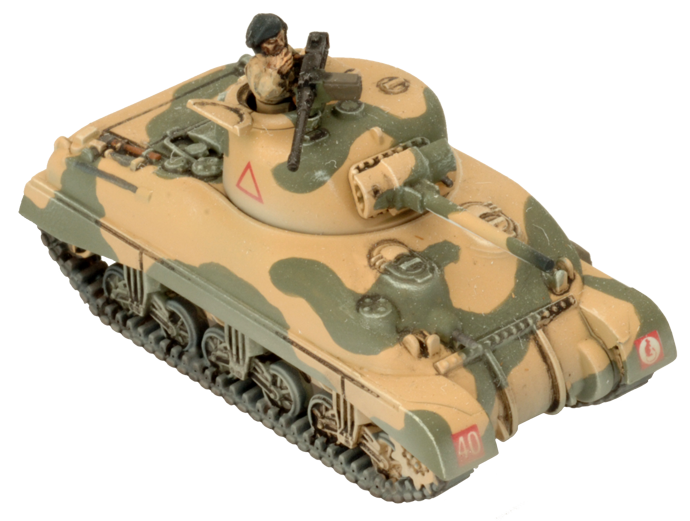 Click here to learn how to assemble the Sherman here...