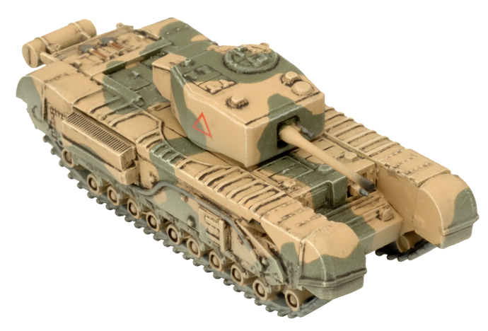 Click here to learn how to assemble the Churchill III here...