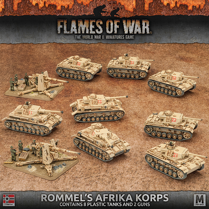 Click here to learn more about Rommel's Afrika Korps...