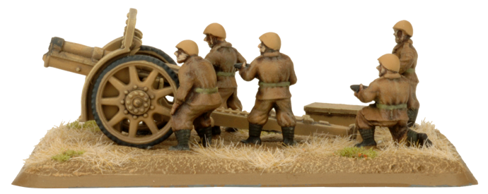 100mm Howitzer Battery (Plastic) (IBX12)