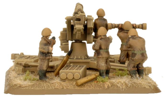 88mm Anti-Tank Battery (Plastic) (IBX13)